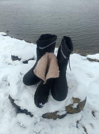 Украински Ботуши Крок с термо чорап