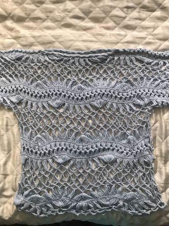 Дамски блзи ръчно плетени на вилка. Изработват се и по поръчка на цвят