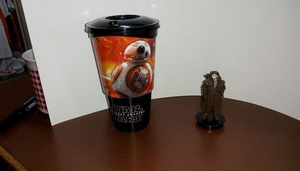 Star Wars филмови колекционерски чаши и фигурка на джуджето Кили