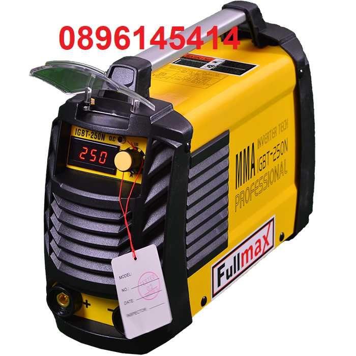 Супер цена - електрожен FULLMAX  MMA 250 N1 - дигитален