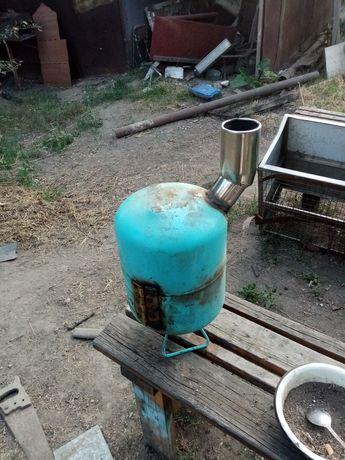 Печка для рыбалки, для перевозной бани, дачи