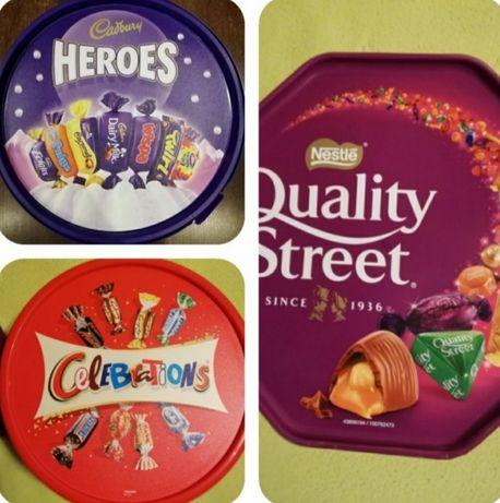 Шоколадови Бонбони Celebrations,Портокали от Англия,ПРОМОЦИЯ