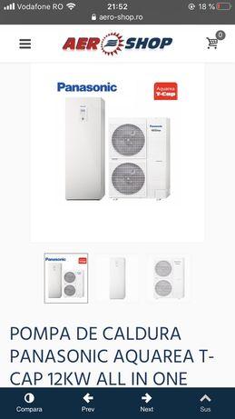Pompa caldura Panasonic 9 KW