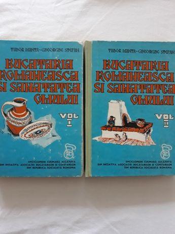 Carti de bucate -Bucataria romaneasca si sanatatea omului-1975