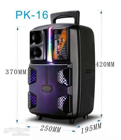 Беспроводной караоке колонка.bt speaker pk-16.портативная колонк.буфер