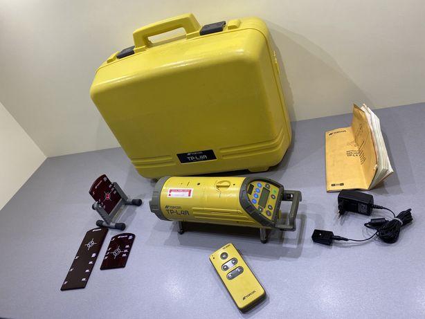 Nivela laser canalizare topcon tp-l 4a leica spectra
