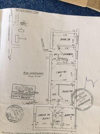 "Ap.  5 camere, complet renovat,parter,Severinului,""la Groapa""."