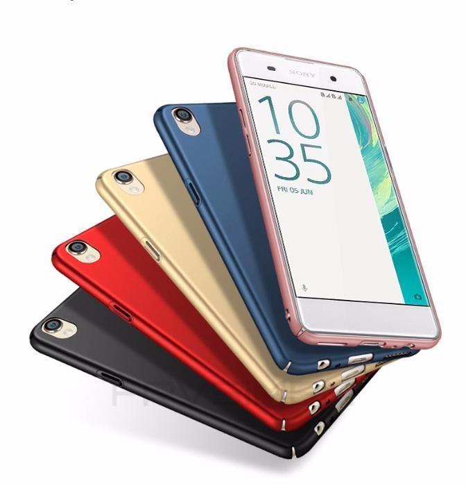 Thin Fit тънък твърд мат кейс за Sony XPERIA XA, XA1, XA1 Ultra, XA UL