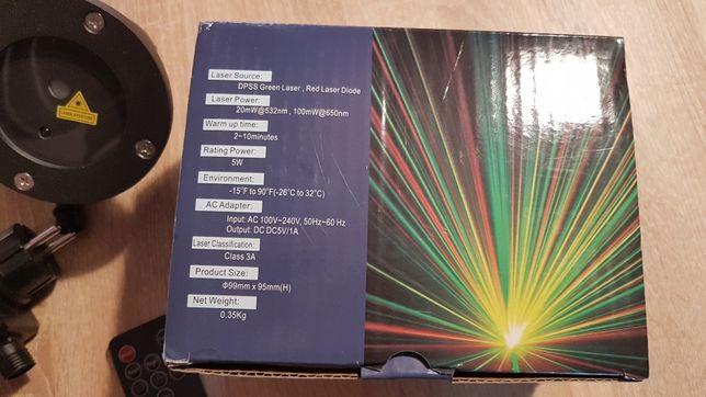 Laser multicolor de exterior cu telecomanda nou
