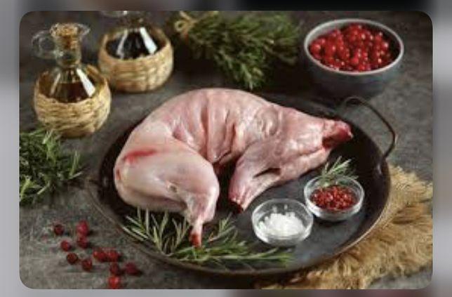У нас только не жирные мясо кролика