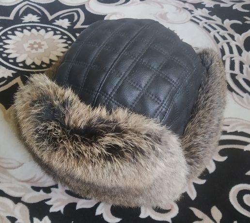 Продам шапку канадский кролик