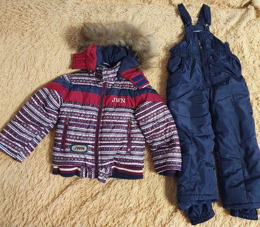 Продам  детский Зимний комбинезон, в подарок шапка, шарф,варежки