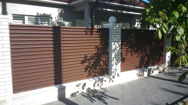 Gard Metalic Poarta Zincata + Oferim si Montaj