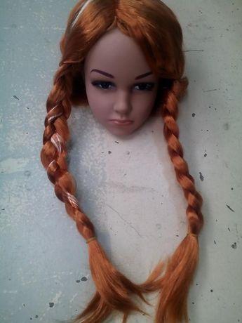 Peruca Frozen Anna