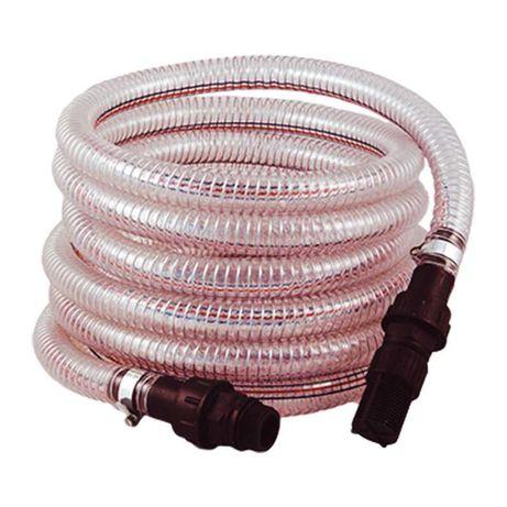 Вакуумоустойчивый спиральный шланг с фильтром и обратным клапаном