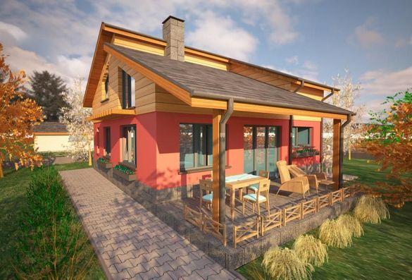 Проект за къща на цени от 2400лв. за всички части.