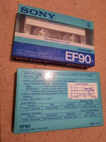 Аудио кассеты запечатанные и с записями.