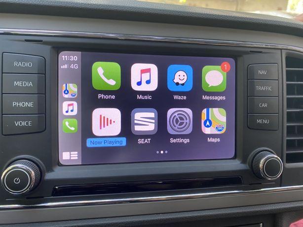 Activare Audi VW Seat Skoda AppleCarplay AndroidAuto Mirrorlink Wazze
