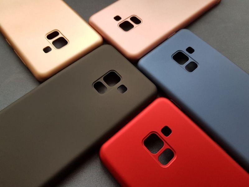 Thin Fit твърд мат кейс за Samsung Galaxy A8 2018, A6, A6+, A50, A70 гр. София - image 1