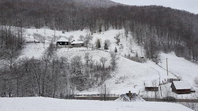 Vand casa la munte aproape de rezervatia naturala Detunatele