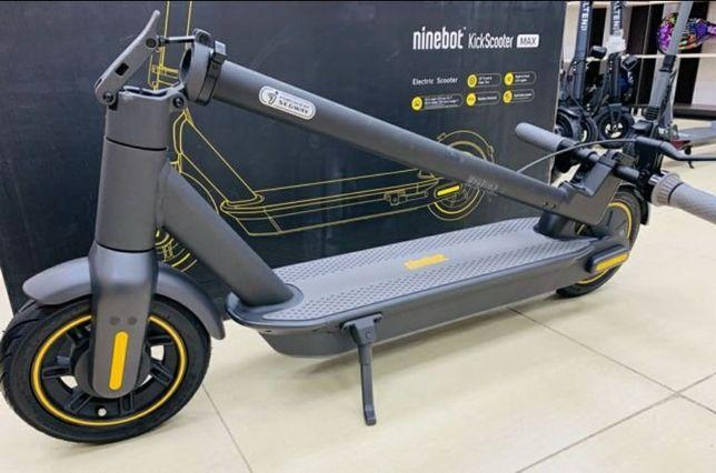 совсем лёгкий транспорт Ninebot Max G30  черный