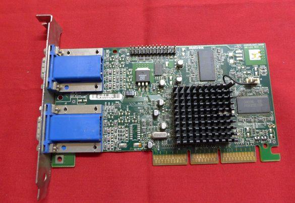 Антика :Ретро видеокарта Matrox Millenium G450 LE AGP