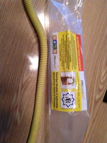 Racord flexibil pentru gaze galben – autorizat