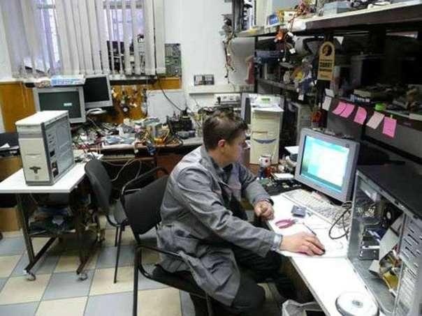 Опытный мастер: ремонт и настройка компьютеров, принтеров