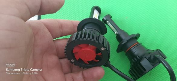 Лед Крушки H4 H7 H1 HB3 HB4 Seoul Y19 chip led крушки
