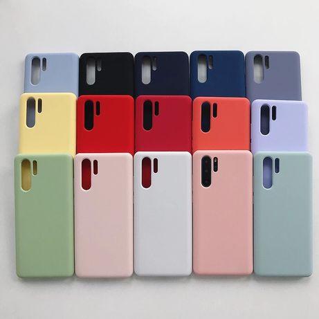 Матов Силиконов Кейс за Huawei P40 P30 Pro Lite Mate 20 P20 P Smart Z