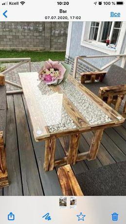 Мебель из паллет от 17000 тенге