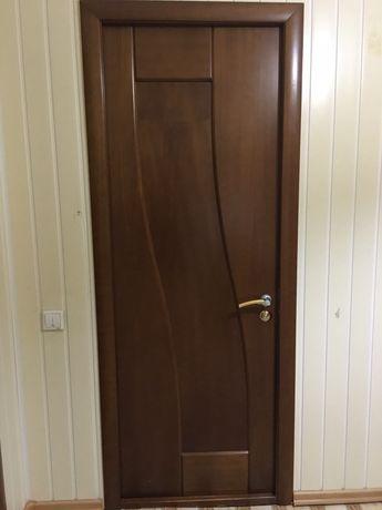 Двери. Со стеклом и глухой