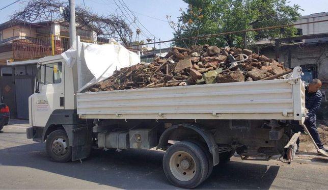 Transport moloz ieftin,demolari mobila veche deseu pamant nisip
