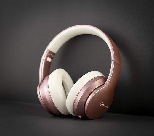 Разопаковани Безжични Bluetooth Слушалки, PowerLocus P6 - Rose Gold