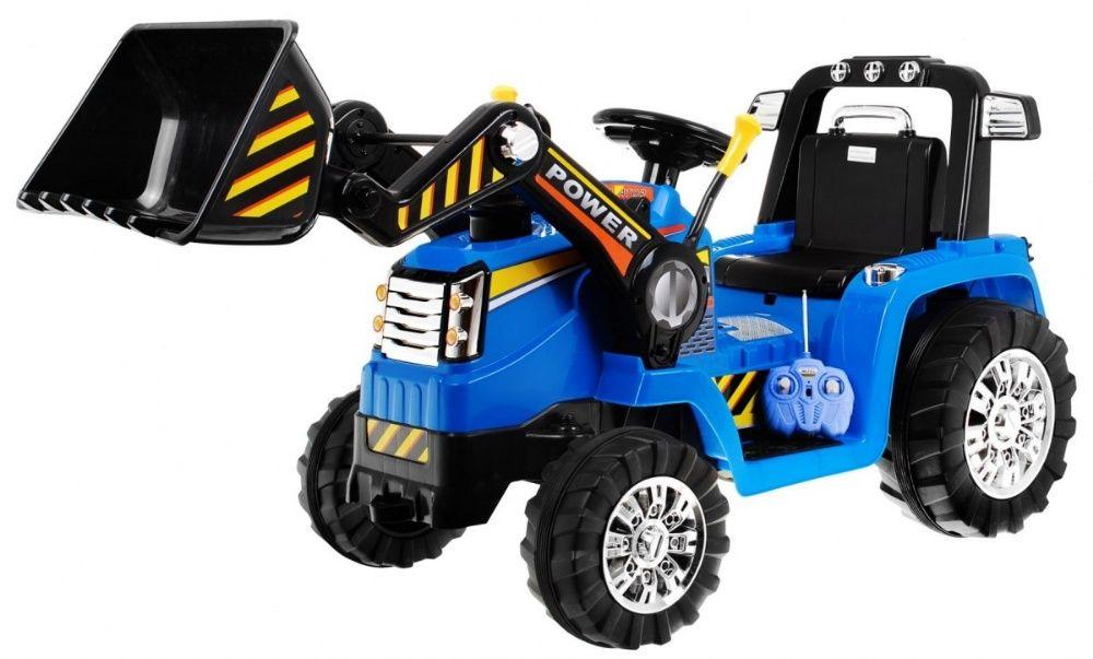 Tractor electric pentru copii cu Telecomanda 2.4GHz (1005) Albastru Bucuresti - imagine 1