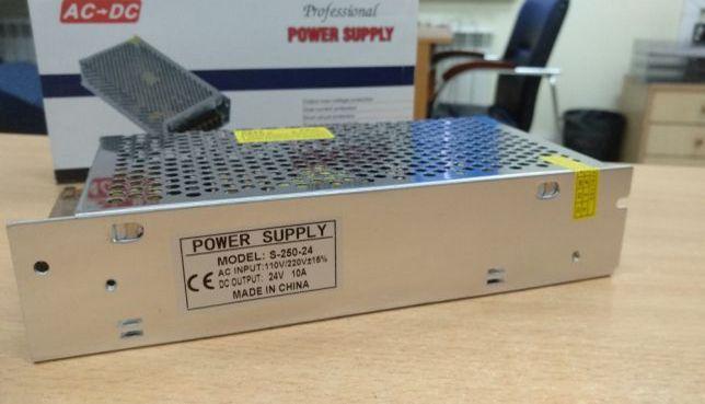Импульсный стабилизированный блок питания 24V 10A 240W