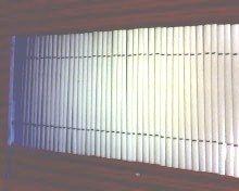 Jaluzele orizontale aluminiu 129 x 49 cm