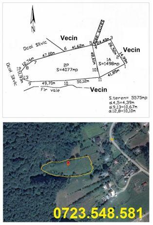 Teren BUDEASA MICA (5575mp) intravilan, langa padure, lat 48m