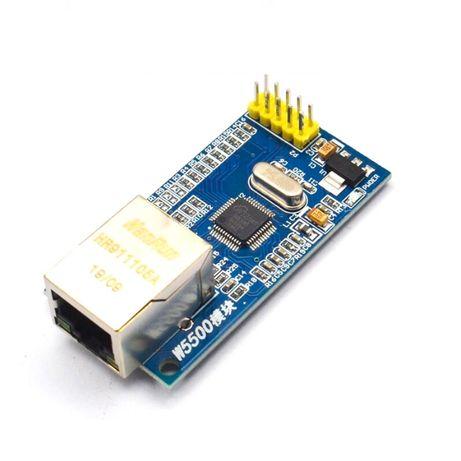 Ethernet модуль W5500 mini SPI TCP/IP