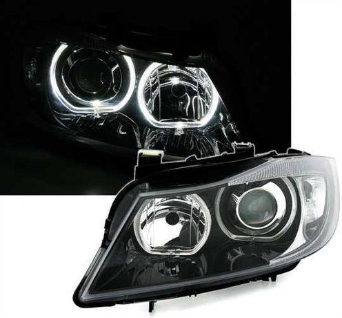 15.  Faruri BMW Seria 3 E90 (2005-2008) Angel Eyes Garantie 12 luni