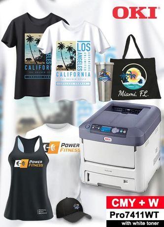 Продам принтер для термопереноса Oki Pro7411wt