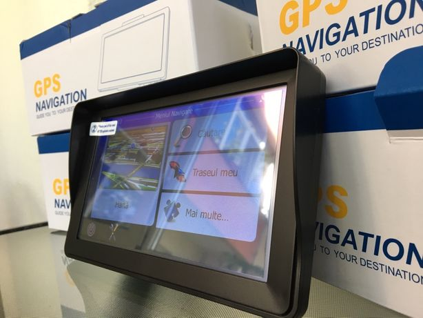 "GPS Navigatie Camion TIR iGO Full Europa 2021 Ecran 7"" Garantie"