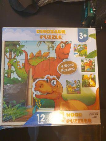 Puzzle din lemn set 4