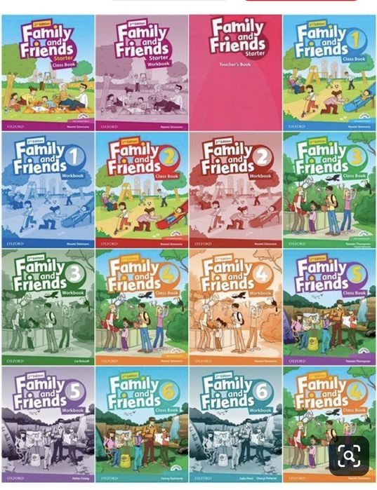 Family and friends 1,2,3,4,5,6 Fly high 1,2,3 English file, Solutions Алматы - изображение 1