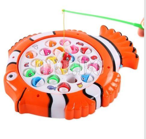 Детска игра Аквариум с плуващи рибки и въдички Детски играчки
