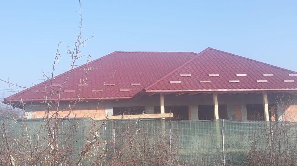 Acoperisuri reparatii montaj tabla tigla metalica Bozovici - imagine 1