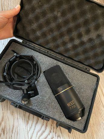 Комплект микрофон MXL 770 с проводом и экраном