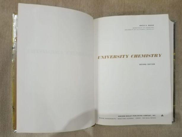 University chemistry- Bruce Mahan, second edition