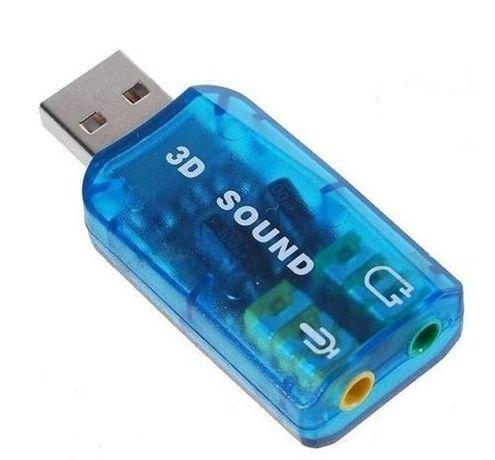 Звукова карта на USB стерео жак и микрофон Sound Card USB SS000001
