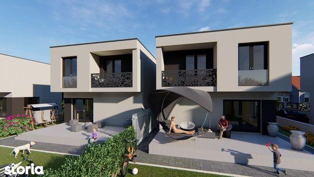 Casa Individuala  Lux-130mp- 400mp teren